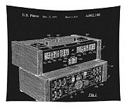 Chess Clock Patent Tapestry
