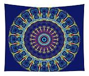 Chevrons II Mandala Tapestry