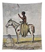 Cheyenne Warrior, 1845 Tapestry