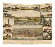 Chicago 1779-1857 Tapestry