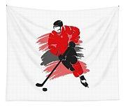 Chicago Blackhawks Player Shirt Tapestry