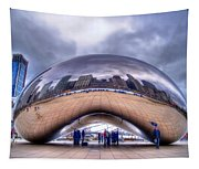 Chicago Cloud Gate Tapestry
