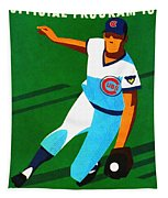 Chicago Cubs 1972 Official Program Tapestry