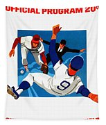 Chicago Cubs 1974 Program Tapestry