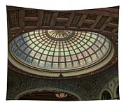 Chicago Cultural Center Tiffany Dome 01 Tapestry