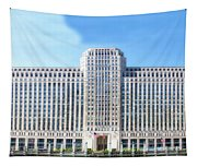 Chicago Merchandise Mart South Facade Tapestry