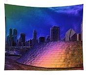 Chicago Millennium Park Bp Bridge Pa 01 Prismatic Tapestry