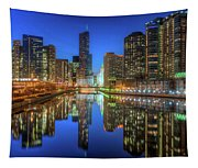 Chicago River East Tapestry