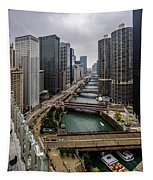 Chicago River Tapestry