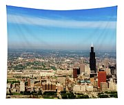 Chicago Skyline - 1990s Tapestry
