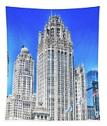 Chicago The Gothic Tribune Tower Tapestry