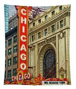 Chicago Theatre Tapestry