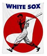 Chicago White Sox 1960 Scorebook Tapestry