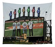 Chicago White Sox Scoreboard Thank You 12 22 44 3 Tapestry