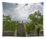 Chichen Itza 4 Tapestry