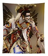 Pow Wow Chicken Dancer 12 Tapestry