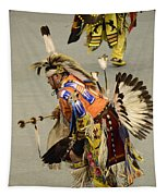 Pow Wow Chicken Dancers 3 Tapestry