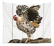 Chickens In Bird In Hand 2 Tapestry