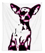 Chihuahua In Pink Tapestry
