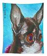 Chili Chihuahua Tapestry