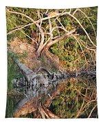Chilling Iguana Tapestry