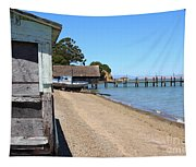 China Camp In Marin Ca Tapestry