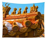 China Forbidden City Roof Decoration Tapestry