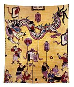 China: New Year Card Tapestry