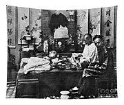 China: Opium Smokers Tapestry