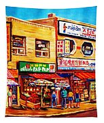 Chinatown Markets Tapestry