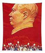 Chinese Communist Poster Tapestry