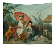 Chinese Motif Tapestry