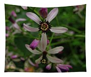 Chock Cherry Flower Tapestry
