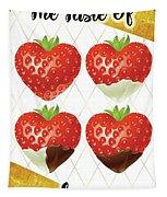 Chocolate - 7  Strawberry Tapestry
