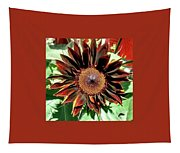 Chocolate Sunflower Tapestry
