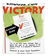 Choose For Victory -- Ww2 Tapestry