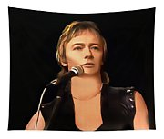 Young Chris Norman Tapestry