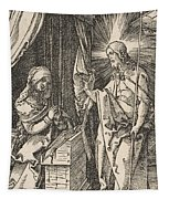 Christ Appearing To His Mother, From The Small Passion Tapestry