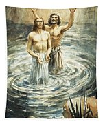 Christ Being Baptised Tapestry