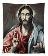 Christ Blessing, The Saviour Of The World Tapestry