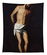 Christ Bound To The Column Tapestry