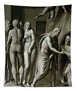 Christ In Limbo Tapestry