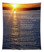 Christ In Me Arise Tapestry