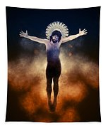 Christ Of The Cosmos Tapestry