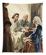Christ Talking Tapestry