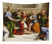 Christ Washing The Disciples' Feet Tapestry