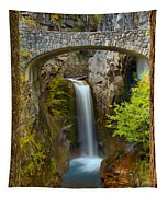 Christine Falls Through The Trees Tapestry