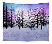 Christmas Bare Trees Tapestry