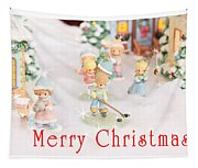 Christmas Card 5 Tapestry