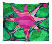 Christmas Celebration Abstract Painting Tapestry